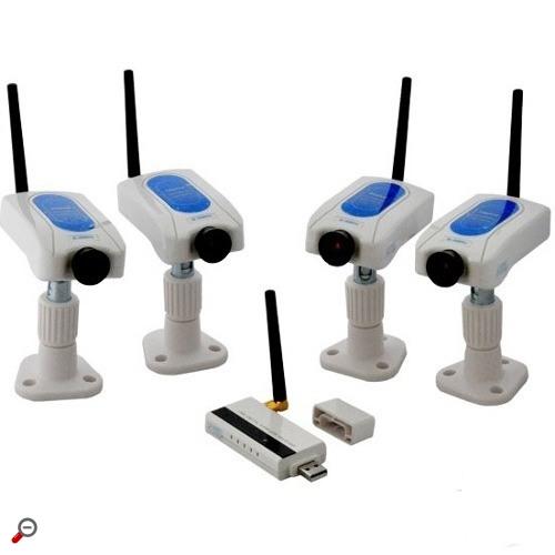 Готовые комплекты видеонаблюдения для дома