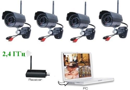 Камеры видеонаблюдения Wi-Fi купить